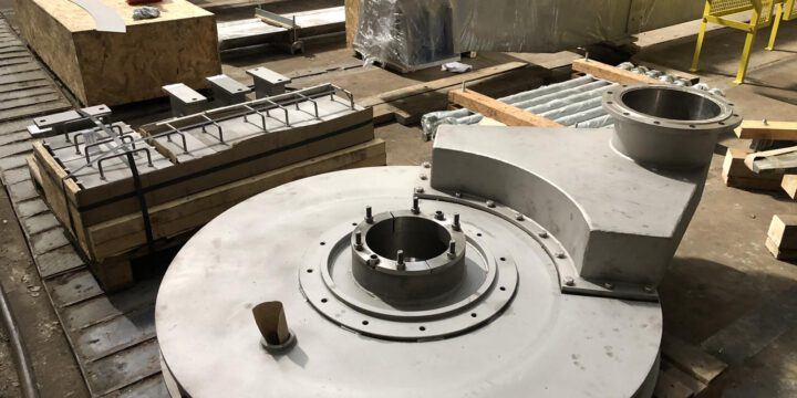 Manufacturing of pulper from Hardox wear-resistant steel