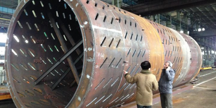 Modernization of the peeling drum of a pulp mill